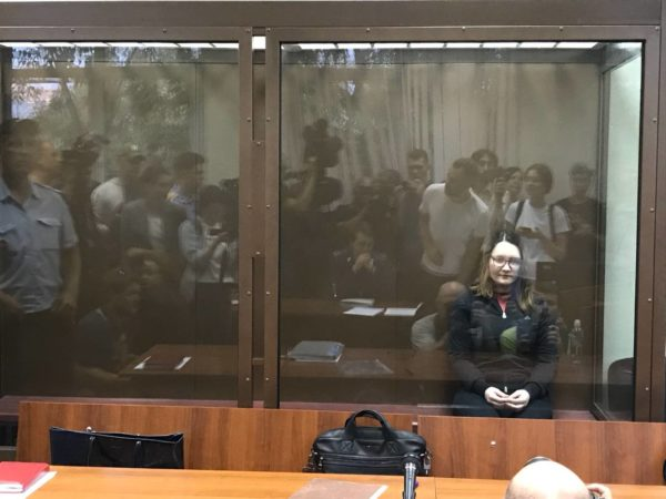 Суд отпустил под домашний арест фигурантку дела «Нового величия» Марию Дубовик