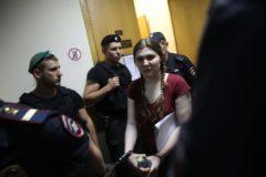 Суд оставил в СИЗО обвиняемую по делу «Нового величия» Анну Павликову