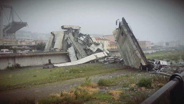 Семеро человек спасены из-под завалов после обрушения моста в Италии
