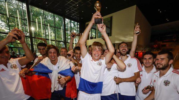 Российские футболисты с ДЦП впервые завоевали титул чемпионов Европы