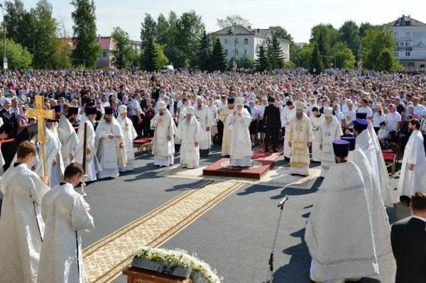 Патриарх Кирилл: Движение к небу, к Богу, к совершенству — подлинное Преображение жизни человека