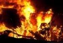 В Томской области сгорела часовня, возведенная силами прихожан