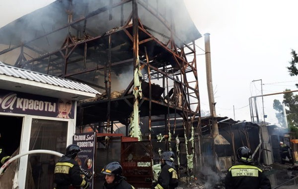 Жертвами пожара в сочинской нелегальной гостинице стали десять человек
