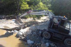В Приморье шесть сел отрезаны от мира из-за подтопленных дорог