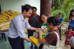 Православная миссия в Таиланде помогла продуктами беженцам из Мьянмы