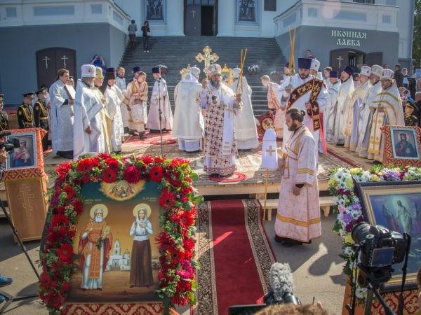 В Удмуртии впервые состоялось прославление местных святых