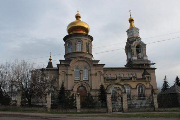 Донецкий храм пострадал от обстрела