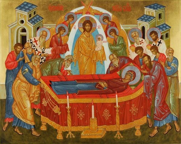 Церковь празднует Успение Пресвятой Богородицы