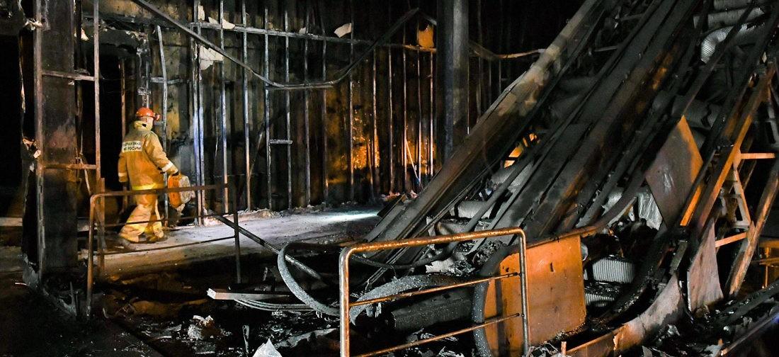 «Зимняя вишня» сгорела из-за замыкания — проблемы с проводкой начались за неделю до трагедии