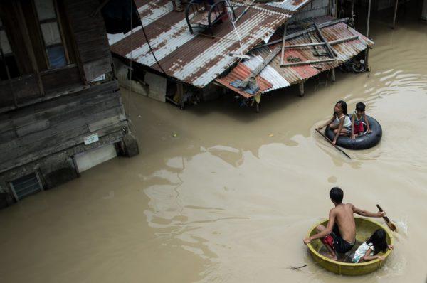 Тайфун Мангхут на Филиппинах и в Гонконге