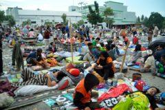 Число жертв землетрясения и цунами в Индонезии достигло 832 человек