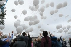 В Кемерово почтили память жертв пожара в «Зимней вишне» – со дня трагедии прошло полгода