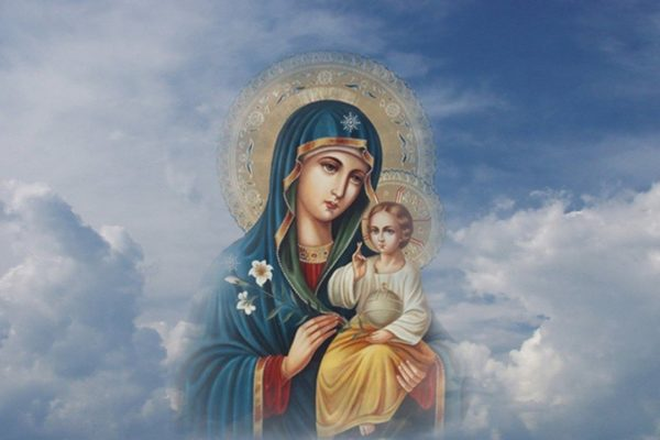 Божия Матерь всюду – ты ошибаешься, но знаешь, что Она не отходит от тебя
