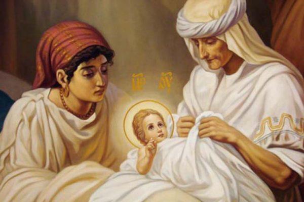 А в положенный срок Анна родила Девочку
