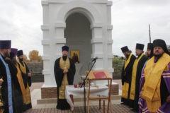 Часовню в память о погибших в «Зимней вишне» детях освятили в Кузбассе