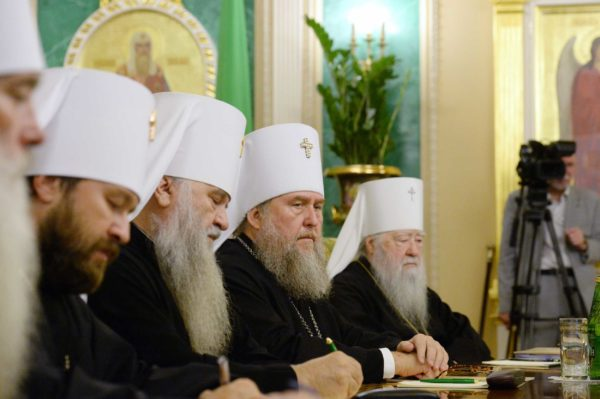 Журналы заседания Священного Синода от 14 сентября 2018 года