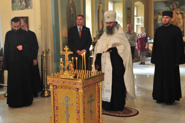 В московском храме прошла панихида по жертвам теракта 11 сентября