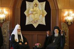 Предстоятель Русской Церкви раскрыл подробности встречи с Патриархом Варфоломеем