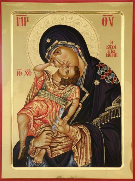 """Икона Божией Матери """"Взыграние Младенца"""" - день памяти 20 ноября"""