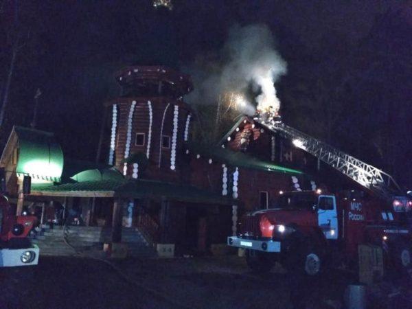 Сгоревший храм на Ганиной яме разобран до основания