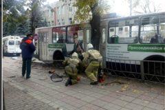 Трое жителей Орла стали жертвами наезда троллейбуса из-за отказа тормозов
