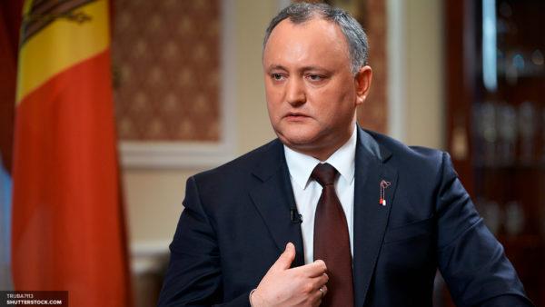 Игорь Додон предложил провести в Молдавии Всеправославный Собор для решения украинского вопроса