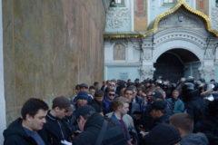 Полиция задержала более 100 провокаторов под стенами Киево-Печерской лавры