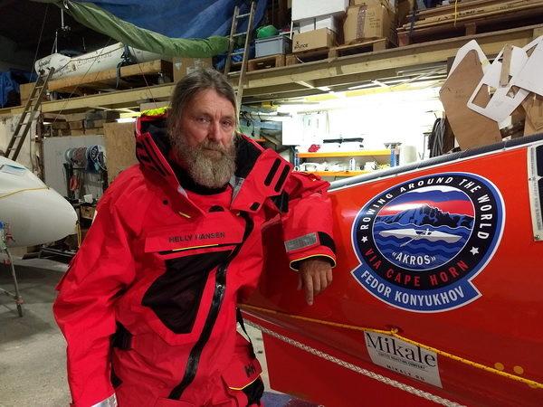 Федор Конюхов планирует установить новый мировой рекорд на весельной лодке