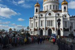 Мощам святого Спиридона поклонились в Москве 200 тысяч  верующих