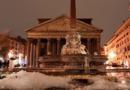 Снег в +25: ледяной дождь и затопленные дороги в Риме