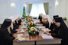 Заявление Священного Синода в связи с посягательством Константинопольского Патриархата на каноническую территорию Русской Церкви