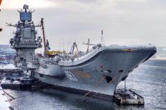 В Мурманске затонул крупнейший плавдок, в котором ремонтировался единственный авианосец России
