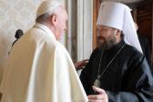 Митрополит Иларион ознакомил Папу Римского с решениями Синода по Константинопольскому Патриархату