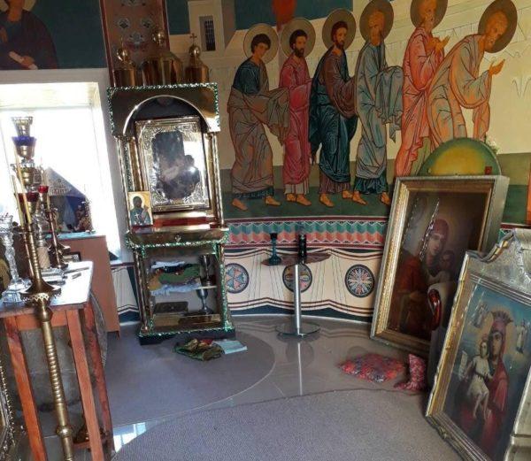 В храме Одесской епархии похищены старинные иконы