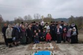 Верующие УПЦ строят в Тернопольской области новый храм вместо захваченного раскольниками