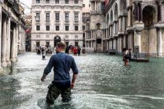 Венеция на 75% затоплена водой из-за непогоды