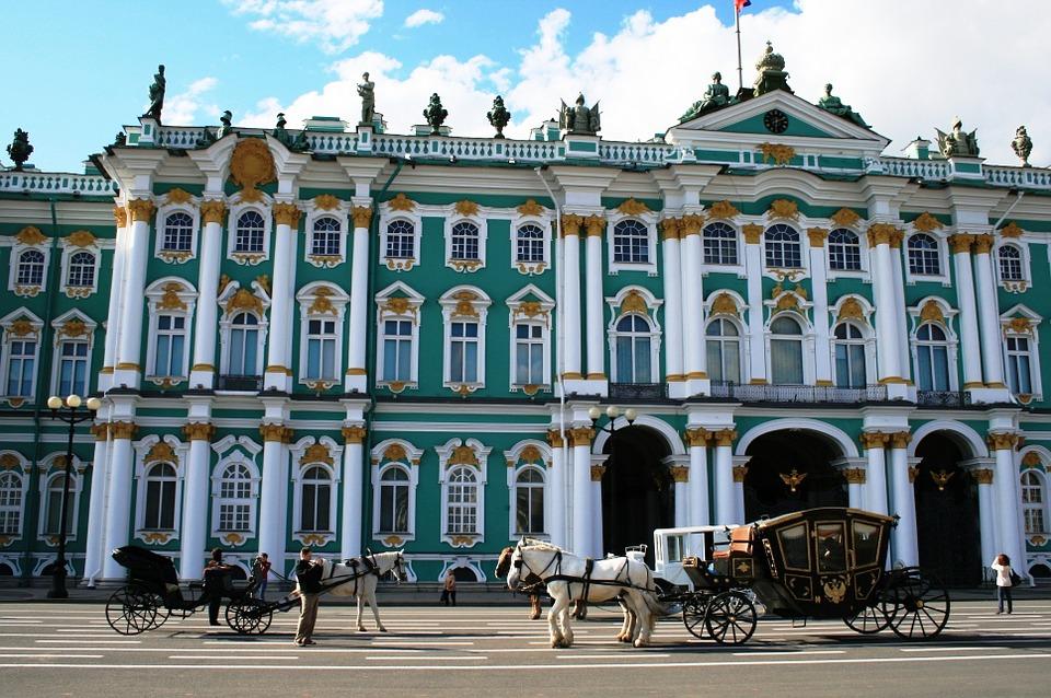 Октябрьская революция 1917 - Зимний дворец