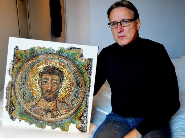 «Индиана Джонс мира искусства» нашел украденную у Кипра древнюю христианскую мозаику – ей более 1600 лет