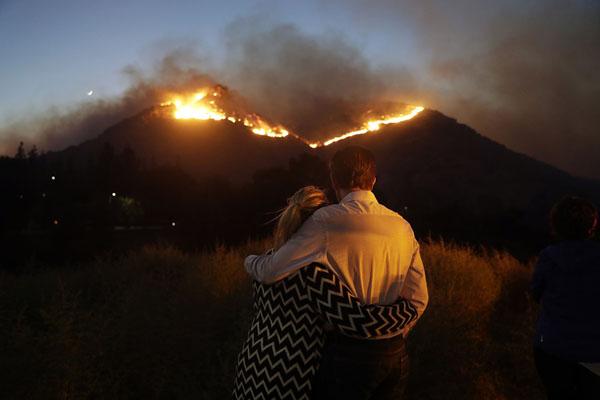 «Я сказала: «Думаю, я умру». Как Калифорния борется с лесными пожарами