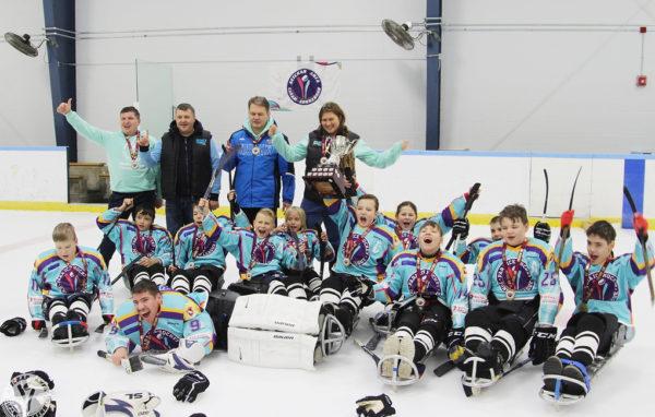 Детская сборная России выиграла турнир по следж-хоккею в Канаде