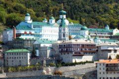На афонских службах начали поминать Митрополита Онуфрия и верующих Украины