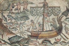 В Израиле нашли древние мозаики с Ноевым ковчегом и Вавилонской башней