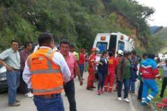 Автобус с юношеской футбольной командой упал в пропасть в Перу