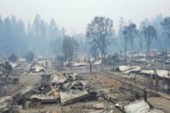 В Калифорнии справились с самым разрушительным лесным пожаром в истории штата