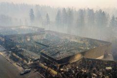 Власти Калифорнии не оповестили вовремя жителей о пожаре, опасаясь паники