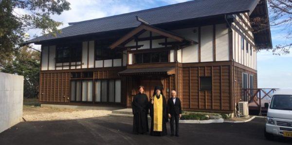 В первом православном монастыре Японии прошла первая литургия