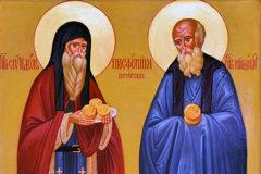 Церковь чтит память преподобных Спиридона и Никодима