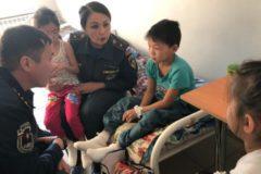 В Якутии 10-летний мальчик спас четверых детей из горящего дома