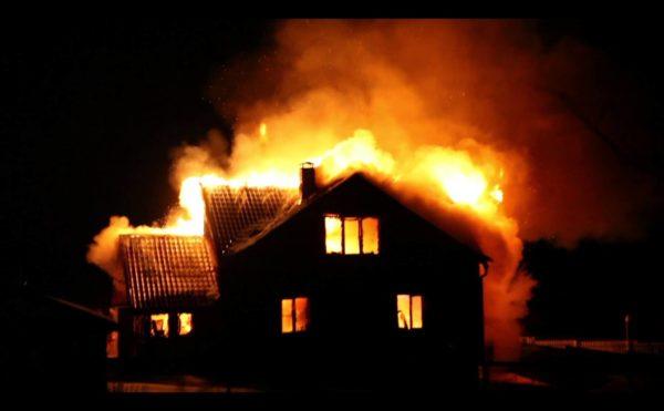На Кузбассе во время пожара погибли 6 детей