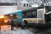 Водитель автобуса, въехавшего в подземный переход у метро «Славянский бульвар», приговорен к…